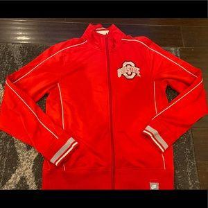 Nike Ohio State Vintage Style Track Jacket Medium